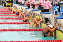 chonburigame κολυμπώντας Ταϊλάνδη Στοκ εικόνα με δικαίωμα ελεύθερης χρήσης