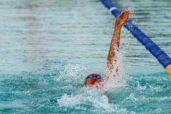 chonburigame κολυμπώντας Ταϊλάνδη Στοκ Φωτογραφία
