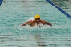 chonburigame κολυμπώντας Ταϊλάνδη Στοκ Εικόνες