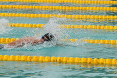 chonburigame κολυμπώντας Ταϊλάνδη Στοκ εικόνες με δικαίωμα ελεύθερης χρήσης