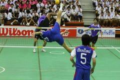 chonburigame sepak takraw Ταϊλάνδη Στοκ εικόνες με δικαίωμα ελεύθερης χρήσης