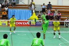 chonburigame sepak takraw Thailand Zdjęcie Stock