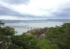 Chone River, Bahia de Caraquez, Ecuado immagini stock libere da diritti