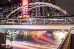 Chong Nonsi Business Area Arkivbild