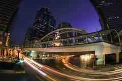 Chong Nonsi skywalk Royalty Free Stock Photo