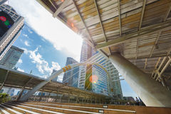 Chong Nonsi skywalk Royalty Free Stock Photos