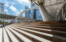 Chong Nonsi skywalk Stock Images