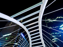 Chong Nonsi Skywalk. The center of significant business areas in Bangkok, Thailand Royalty Free Stock Image