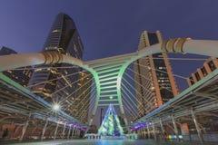 Chong Nonsri Sky Bridge. - (public location) Royalty Free Stock Photo