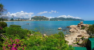 The Chong Promontory (Hon Chong) in nha trang in vietnam Royalty Free Stock Photos