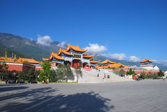 Chong Sheng Buddhist Temple. The gate of Chong Sheng Buddhist Temple,situated at the foot of Cangshan Mountain ,Dali,Yunnan,China,Asia Stock Photography