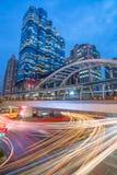 Chongnonsri Narathiwas曼谷光 免版税图库摄影