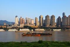 chongqing εικονική παράσταση πόλης Στοκ Εικόνες