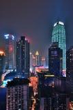 Chongqing τη νύχτα στοκ εικόνες