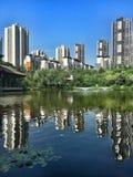 chongqing άποψη πόλεων Στοκ Φωτογραφίες