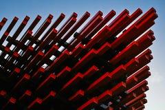 Chongqing Art Museum fotografering för bildbyråer