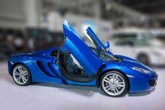 Chongqing Auto przedstawienia McLaren serie samochodowe obrazy stock