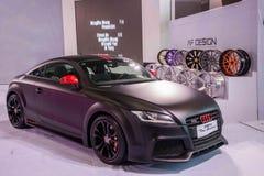 Chongqing Auto Show Audi-Reihenauto Lizenzfreie Stockfotografie