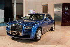 Chongqing Auto Show Rolls-Royce car series Royalty Free Stock Images