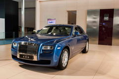 Chongqing Auto Show Rolls-Royce car series Stock Images