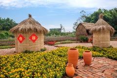 Chongqing Banan florece el jardín del mundo por completo de flores en la plena floración Fotografía de archivo