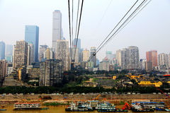 Chongqing Cableway Royalty Free Stock Images