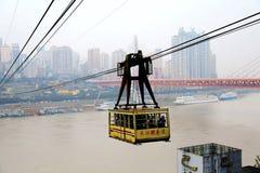 Chongqing Cableway Stock Photos