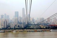 Chongqing Cableway Stock Photo