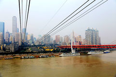 Chongqing Cableway Stock Images