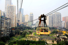 Chongqing Cableway Royalty Free Stock Photos
