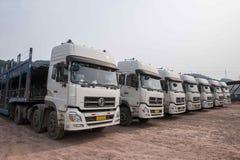 Chongqing Changan Minsheng Logistics Co , Ltd en Kerry Industrial Co heeft met Changan-Auto, Changan Ford Mazda, Changan Suzuki,  Stock Foto