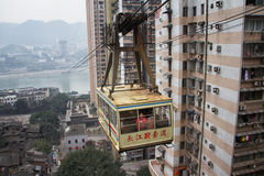 Chongqing Changjiang Ropeway Royalty Free Stock Photography