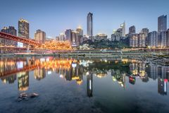 Chongqing, China royalty-vrije stock afbeelding