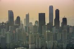 Chongqing, China Cityscape Royalty Free Stock Photos