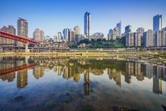 Chongqing, China Cityscape Stock Photos