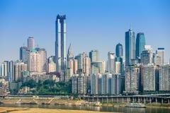 Chongqing, China Cityscape Stock Photography