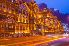 Chongqing china traditional buildings Royalty Free Stock Photography