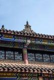 Chongqing City öst av brunnsortstaden av den Baisha templet Fotografering för Bildbyråer