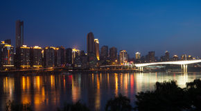 Chongqing city Stock Images