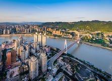 Chongqing City stock foto's