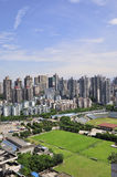 Chongqing city skyline Stock Image