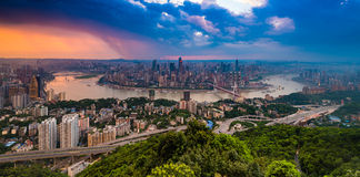 Chongqing City stock image
