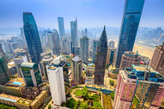 Chongqing Cityscape Royalty Free Stock Photo