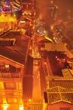 Chongqing cityscape at night Stock Photo