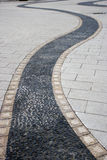 Chongqing Dadukou District Park cobblestone paths made Royalty Free Stock Photos