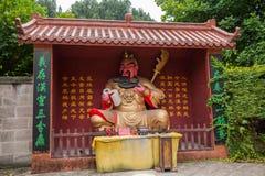 Chongqing Guan Gong Quan Buddha Cave Stock Image