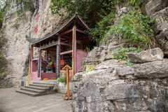 Chongqing East Spring Buddha Cave Fotos de archivo