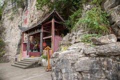 Chongqing East Spring Buddha Cave Stock Photos