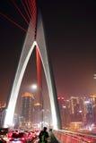 Chongqing en el puente del hongyadong Imagen de archivo