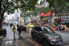 Chongqing Food Street Royaltyfria Bilder